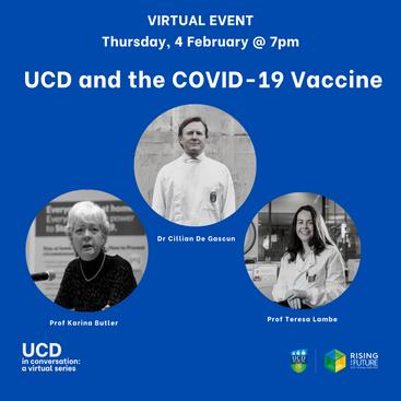 UCD in Conversation Feb 4th 2021