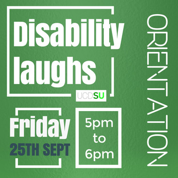 Disability Laughs 25th Sept 2020
