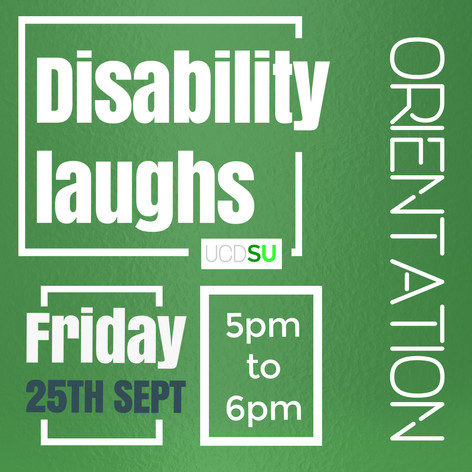 Disability laughs