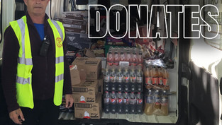 SU Shops Donate Goods to Inner City Helping Homeless