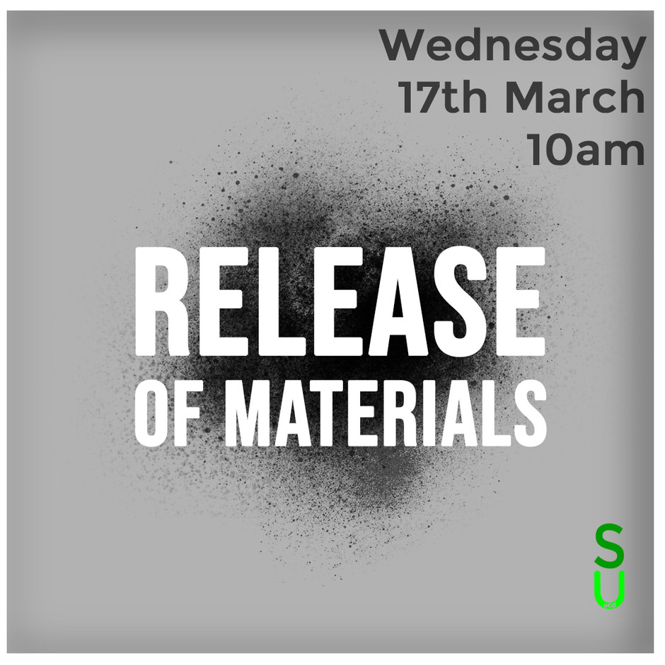 Release of Materials