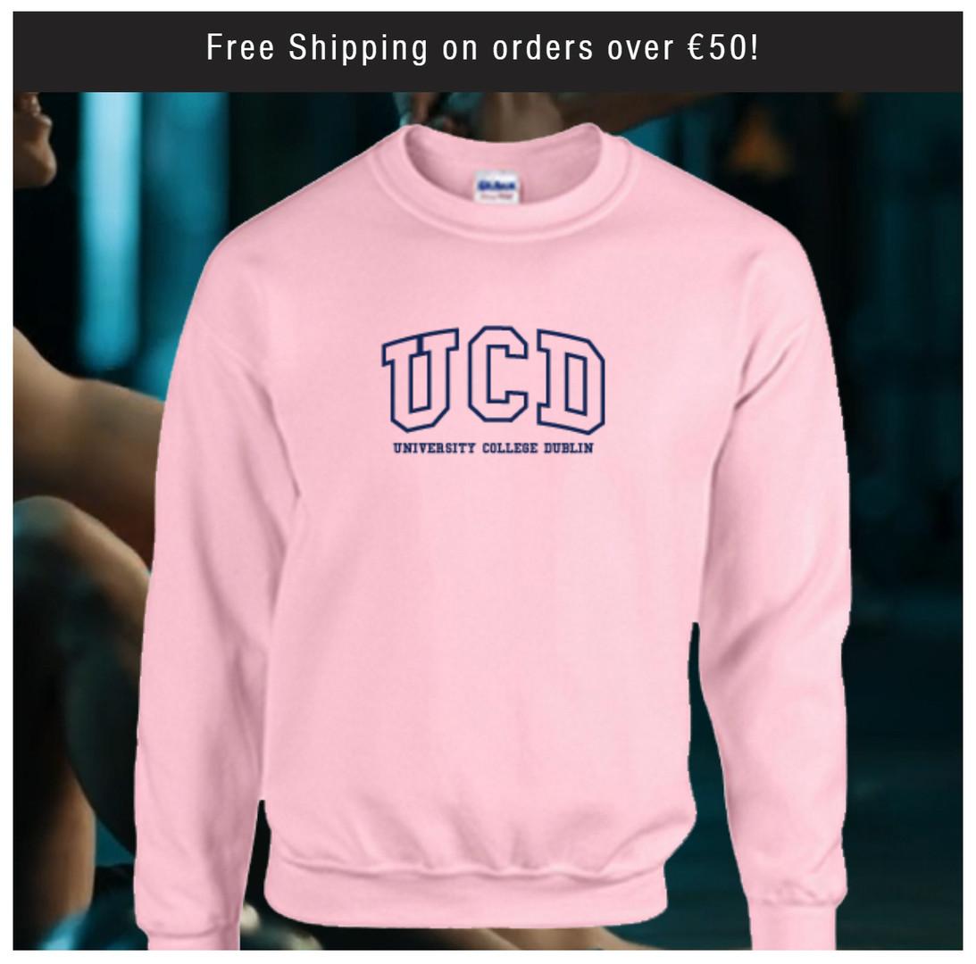 Pink UCD Sweatshirt