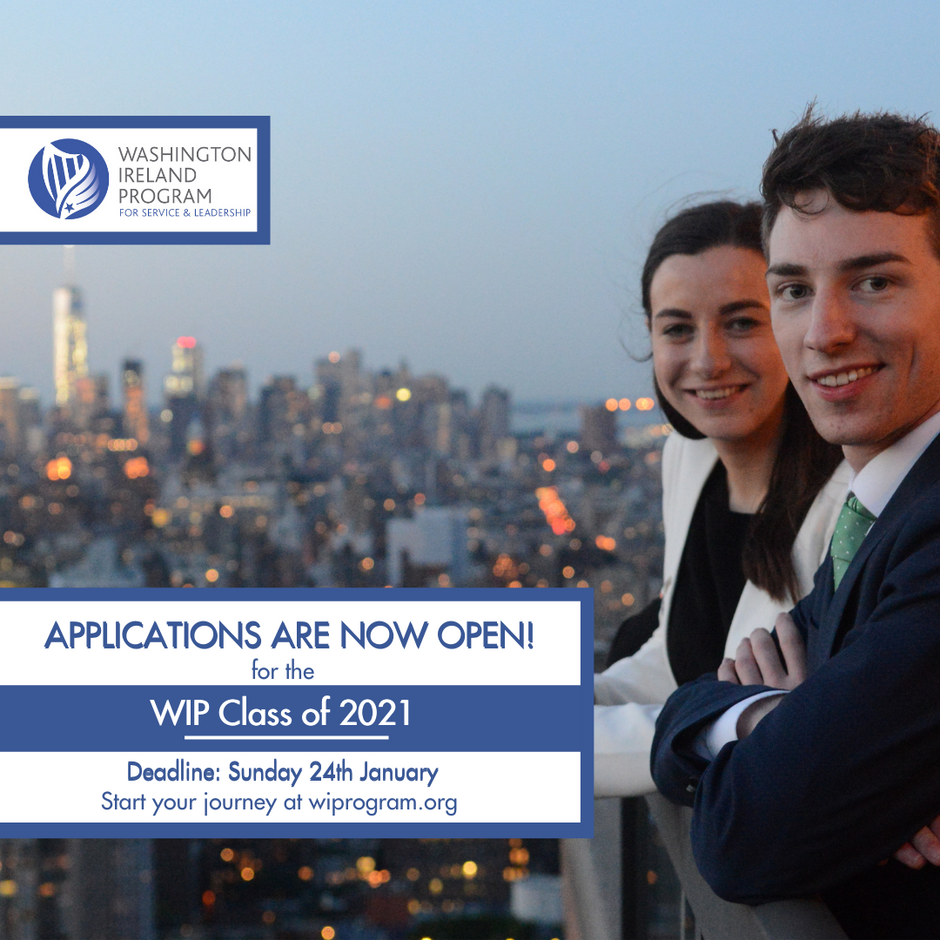 Washington Ireland Program Applications Now Open