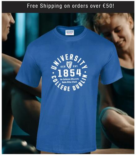 Blue UCD 1854 Tshirt