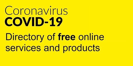 Covid-19 Free Online Services and Products