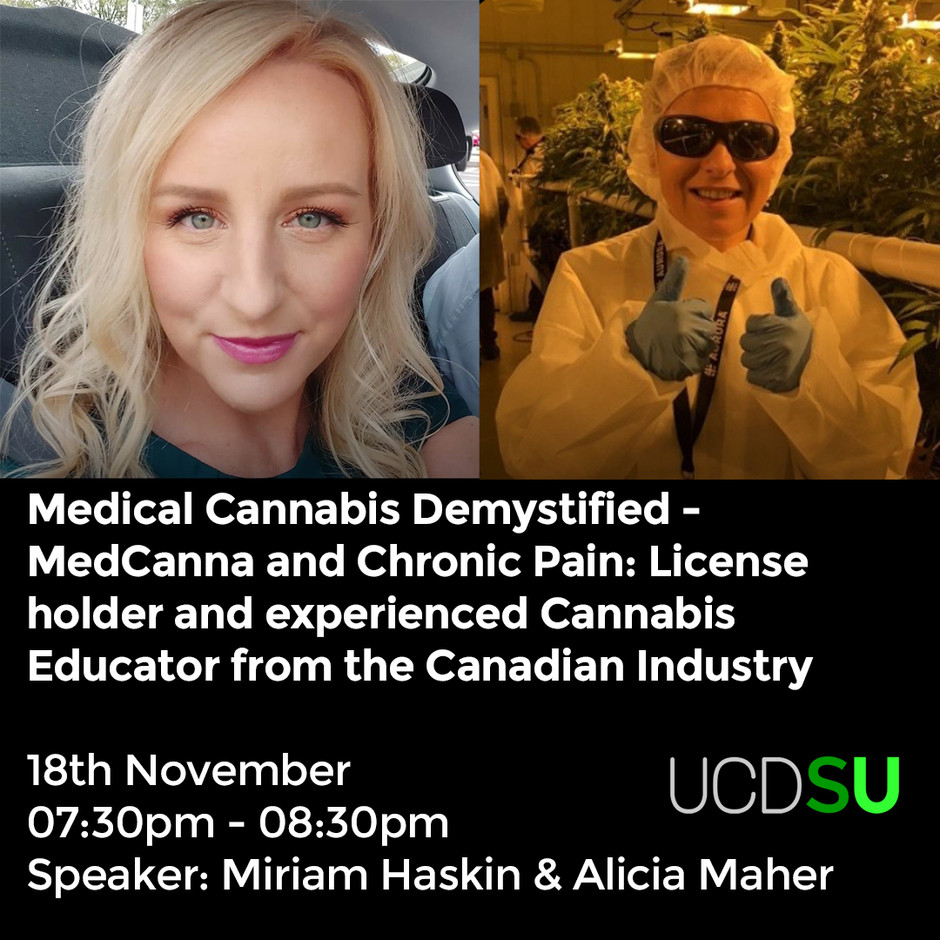 Medical Cannabis Demystified - MedCanna and Chronic Pain Nov 18th 2020