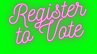 Register to Vote for SU Elections