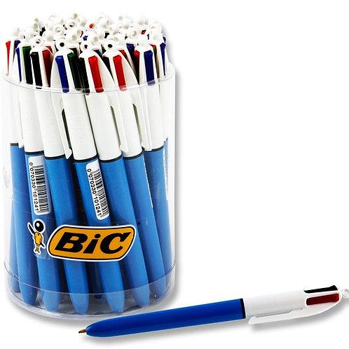 Bic 4 Colour Biro (tub)