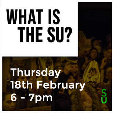 Executive Election Workshop: What is the SU?