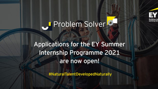 EY Summer Internship Programme 2021