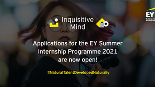 What does a Summer with EY look like?