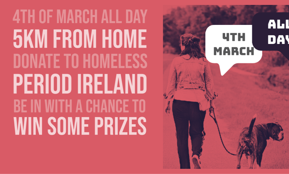 5km Walk from Home - March 4th