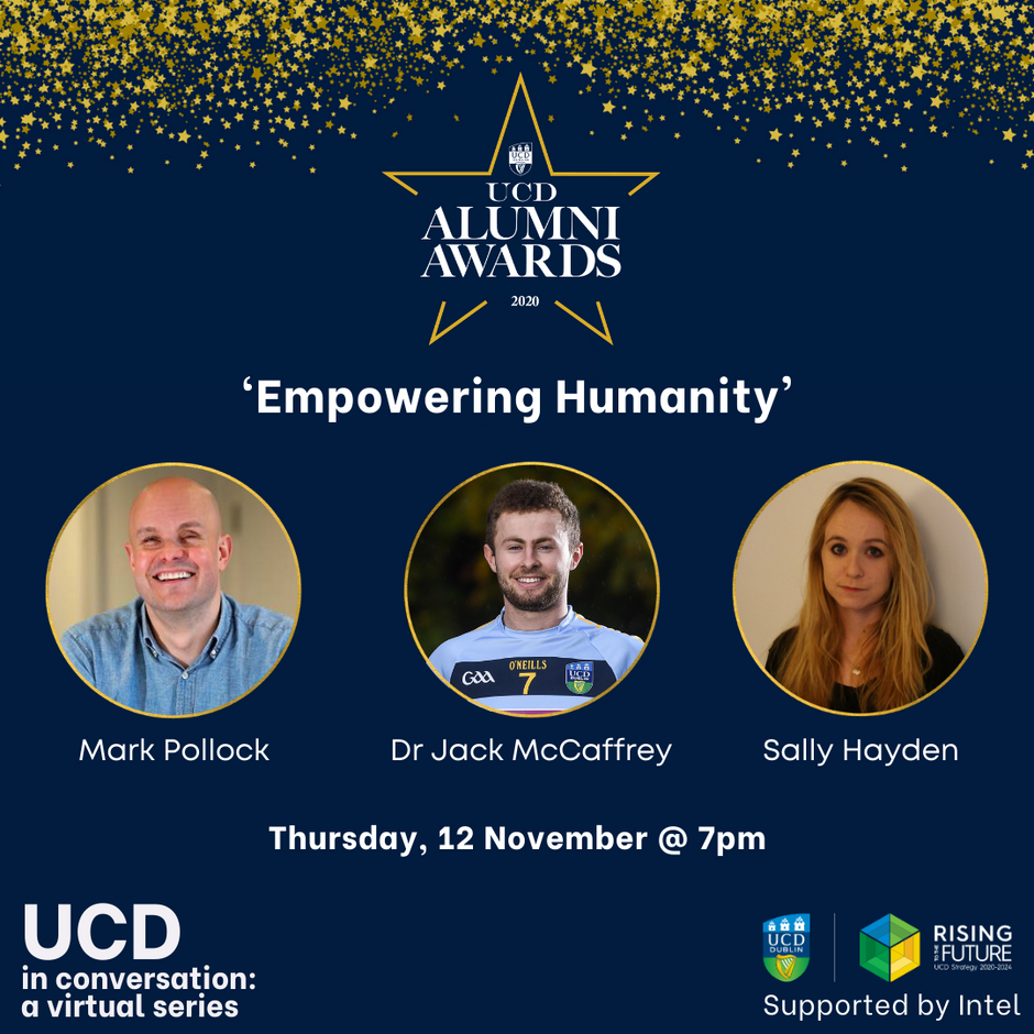 UCD Alumni Awardees in Focus Nov 12th 2020