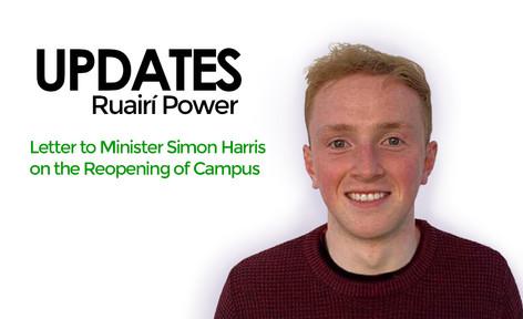 Letter to Minister Simon Harris