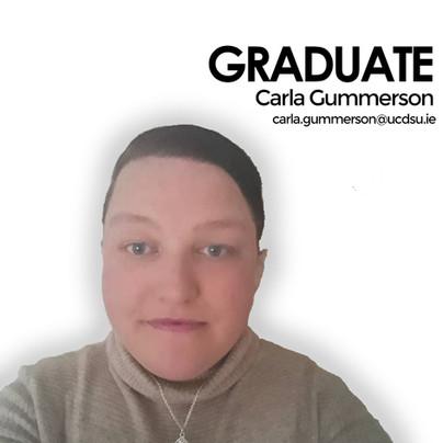 Carla, Graduate