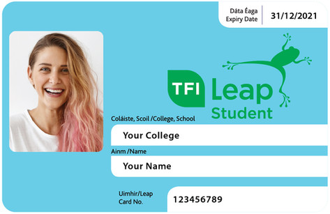 Student Leap Card Update