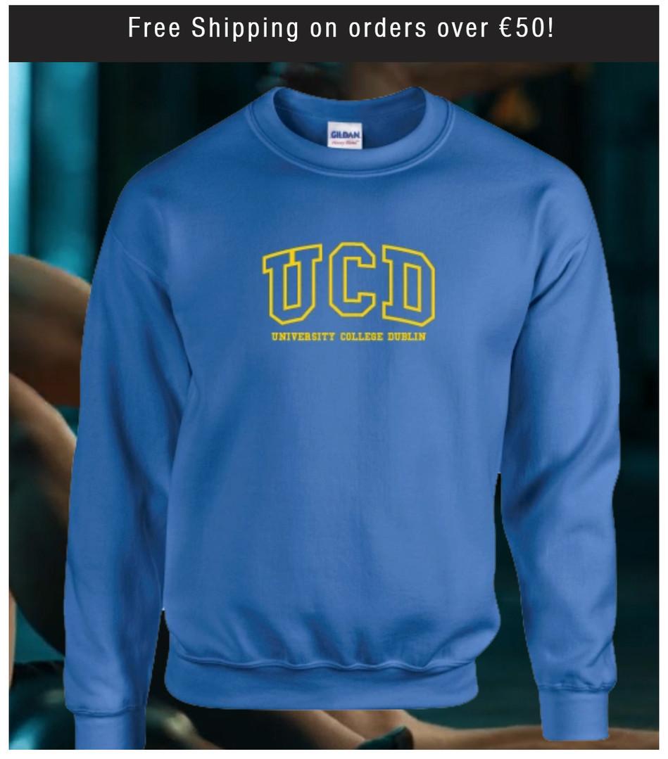 Blue UCD Sweatshirt