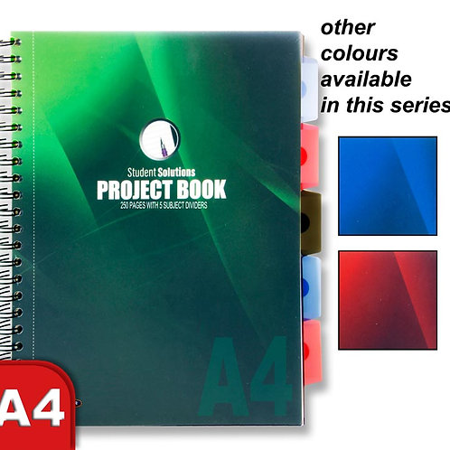 Student Solutions A4 250pg PP5 Subject Project Book 3 Asst