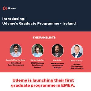 Udemy Graduate Programme Ireland