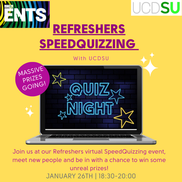 Refreshers Day Speedquizzing - 26th Jan 2021
