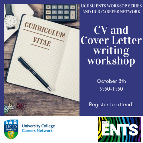 CV and Cover Letter writing workshop