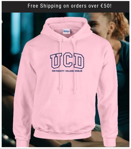 Pink UCD Hoodie