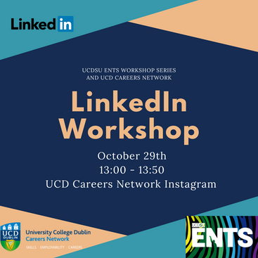 Tune into the careers development UCD instagram page to check out this workshop!
