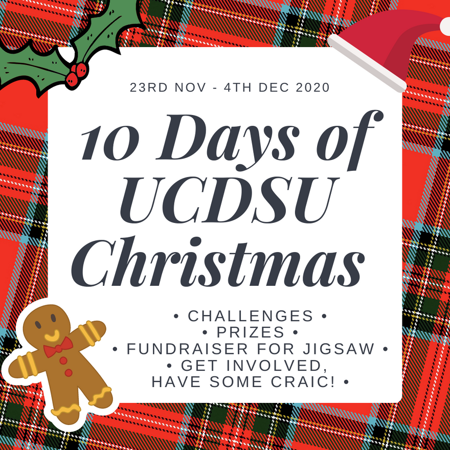 10 Days of UCDSU Christmas