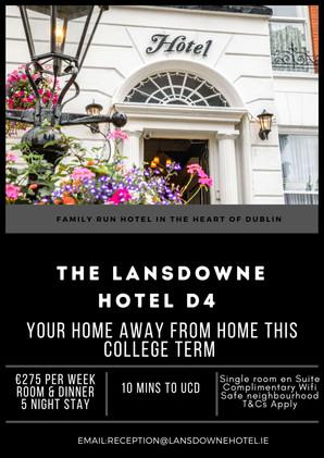 The Lansdowne Hotel D4