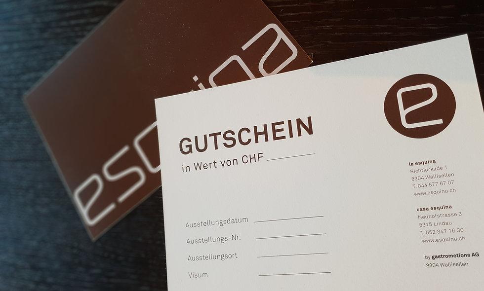 ESQUINA GUTSCHEIN
