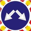 Светодиодный знак Щит стробоскопы