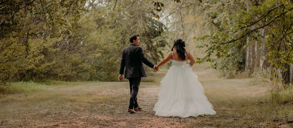 Sophie + Ryan | Central Alberta Wedding Photographer