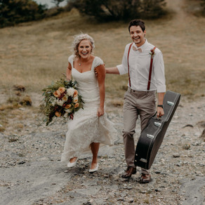Ariel + Anthony | Rocky Mountain Elopement Photographer | Nordegg, AB