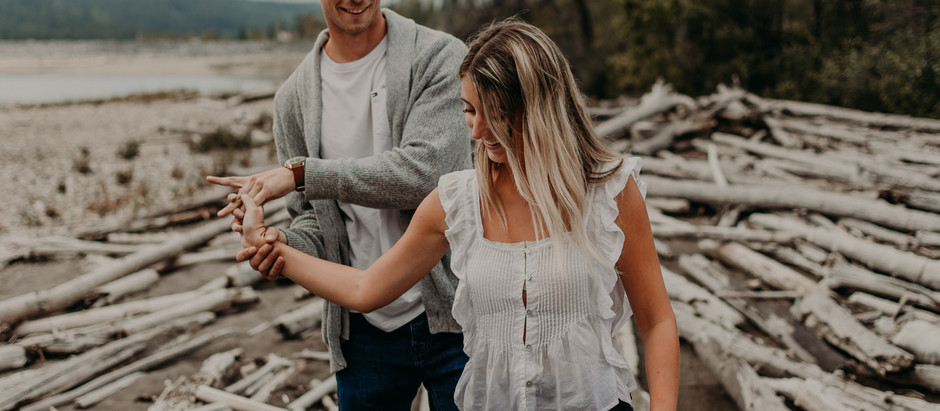 Tanner + Leah | Kananaskis Engagement Session