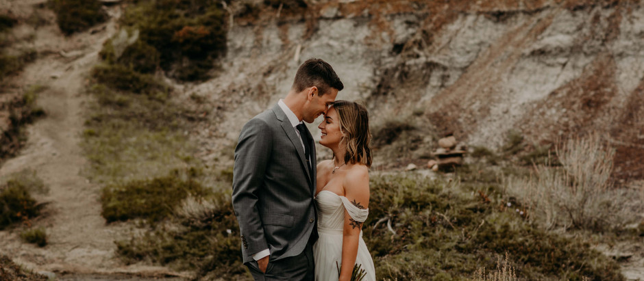 Lindsay + Matt | Badland Elopement Photographer
