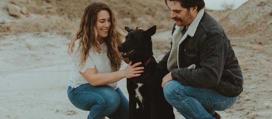 Badlands Desert Engagement Session | Medicine Hat Wedding Photographer | Katherine + Jordy