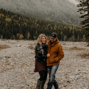 Cathy + Jesse | Riverbed Kananaskis Engagement Session