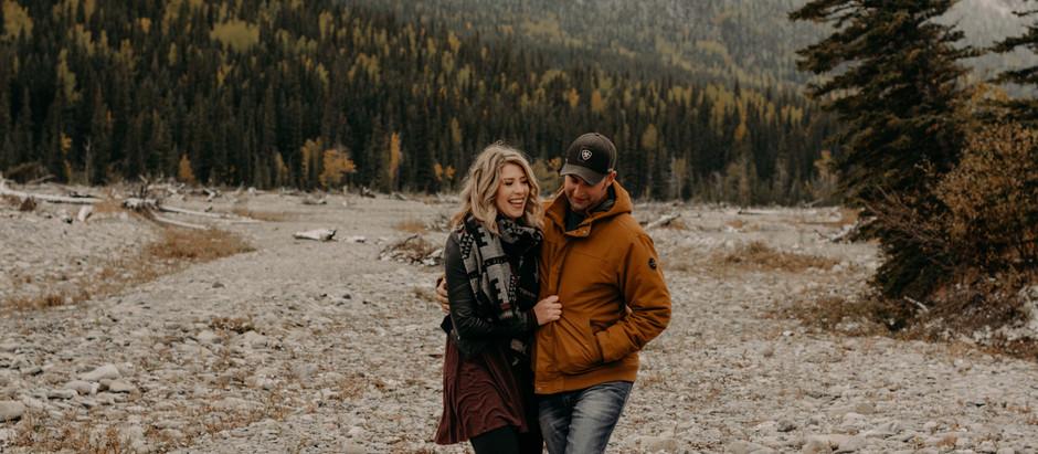 Cathy + Jesse | Riverbed Kananaskis Engagement Session