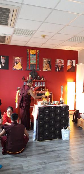 příprava oltáře