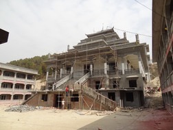 Základy nového kláštera DSL/ DSL  monastery under construction