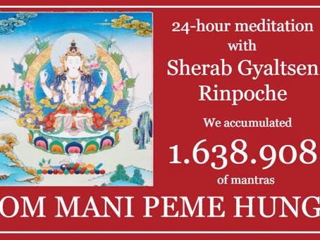 1 638 908 OM MANI PEME HUNG