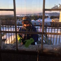 Dhawa miluje sníh