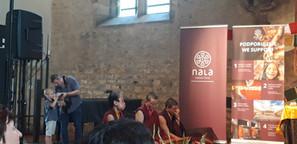 Při přednášce Sheraba Gyltsen Rinpočheho