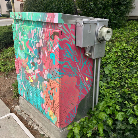 Utility Box on Dolores and Bancroft San Leandro, CA