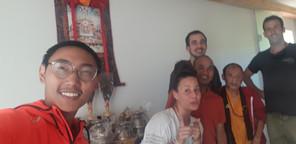Rekonvalescence - Příprava na příjezd Sabchu Rinpočheho