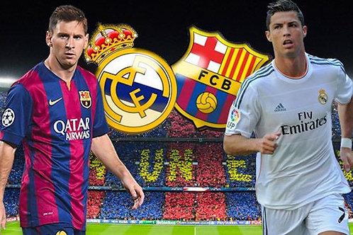 Paquete ¨Básico¨ - FC Barcelona vs Real Madrid / Pre order