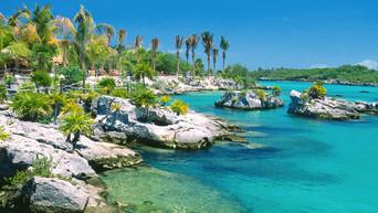 Xel-Ha Marine Park Cancun Mexico wallpap
