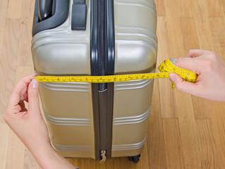 Equipaje de Mano. Medidas, tamaño y peso
