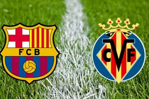 FC Barcelona - Villareal / Pre order