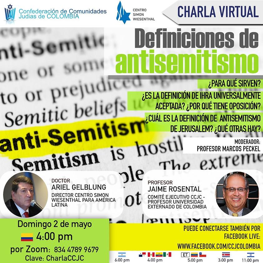 Definiciones de Antisemitismo